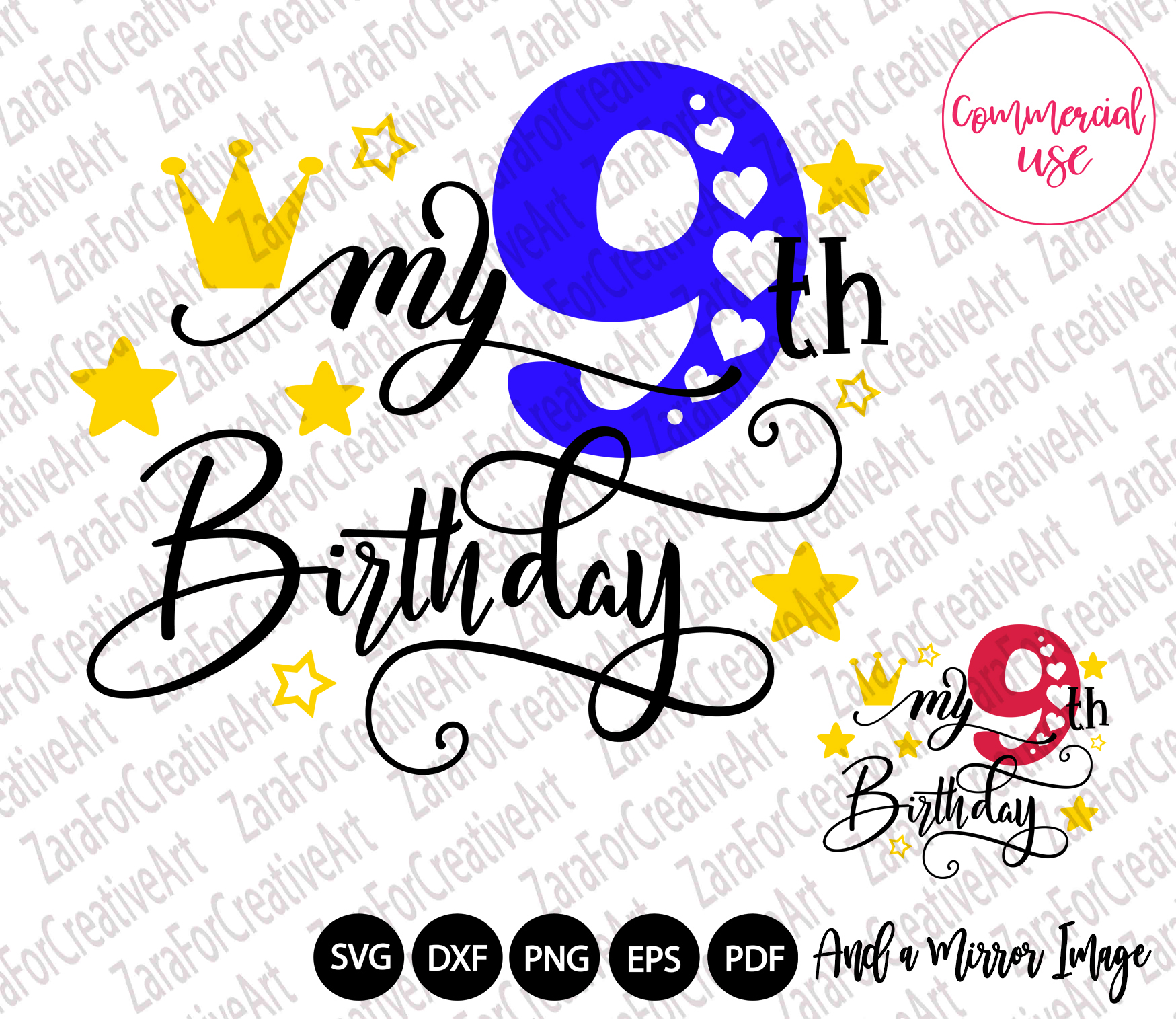 my birthday svg bundle, birthday girl bundle birthday boy , example image 10