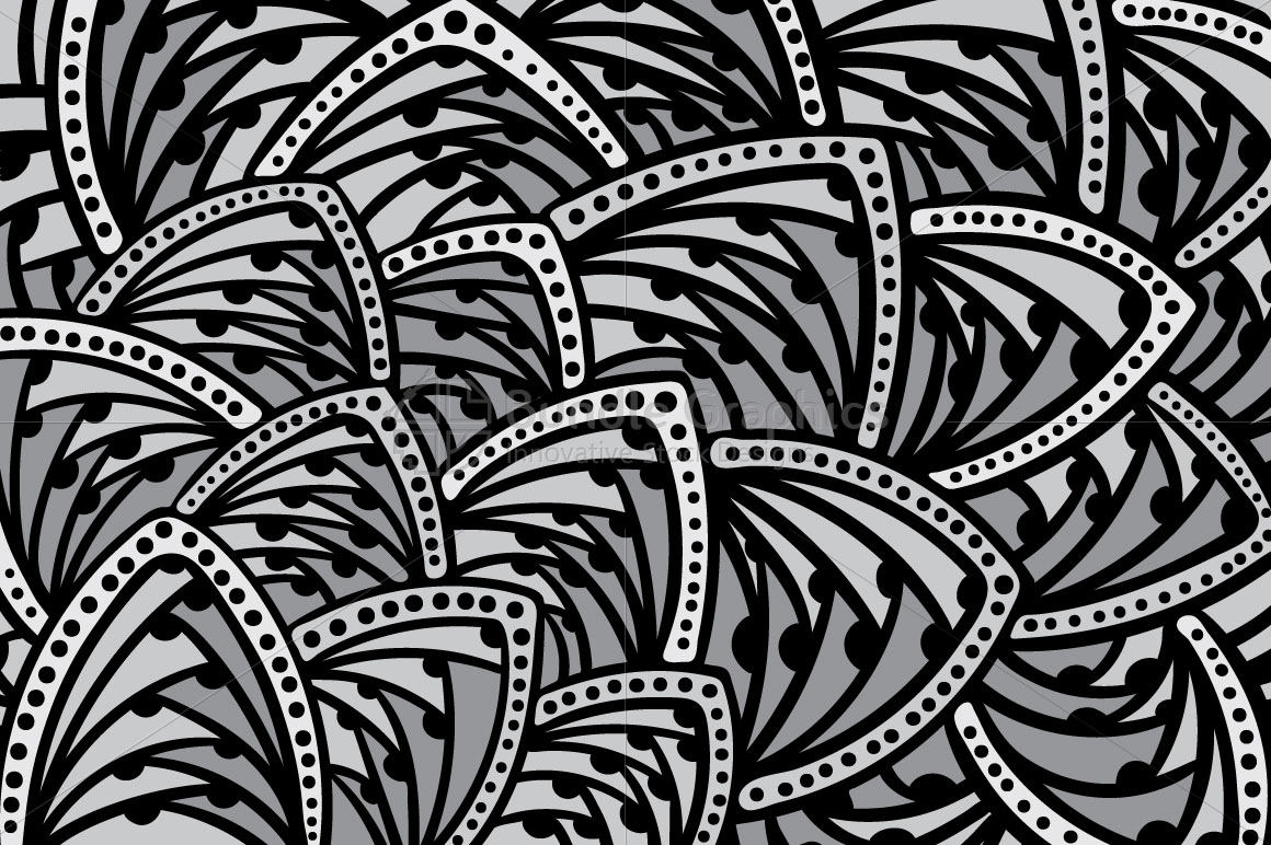 Abstract Freehand Colorful Background example image 2