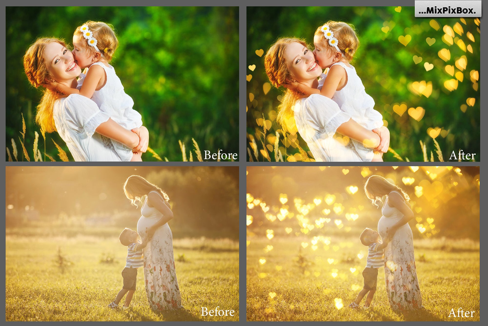 Romantic Bokeh Photo Overlays example image 6
