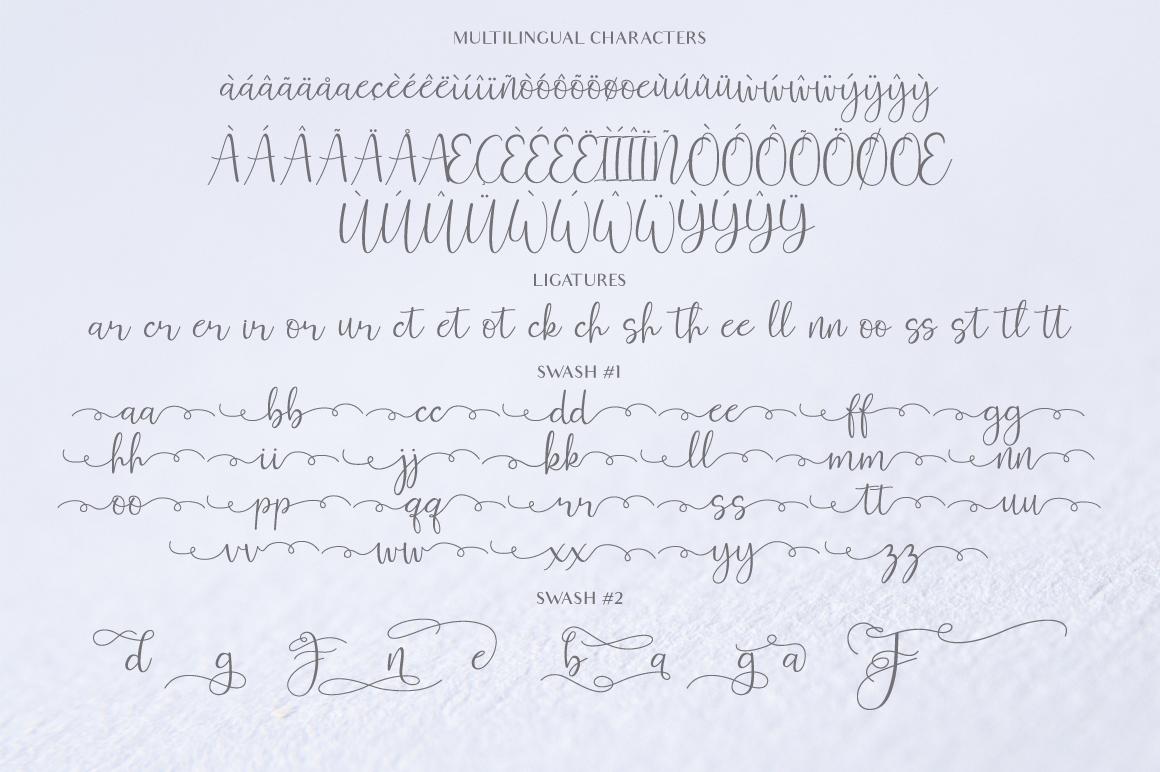 Ferinitta - Chic Calligraphy example image 8