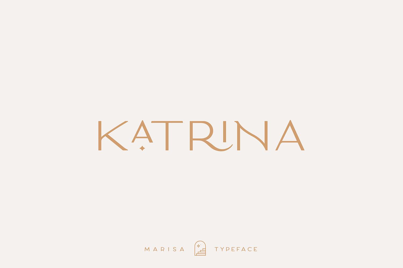 Classy Marisa - Elegant Fashion Stylish Typeface example image 14