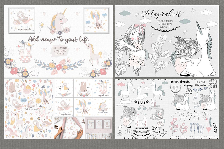 Hand drawn bundle by Natdzho example image 21