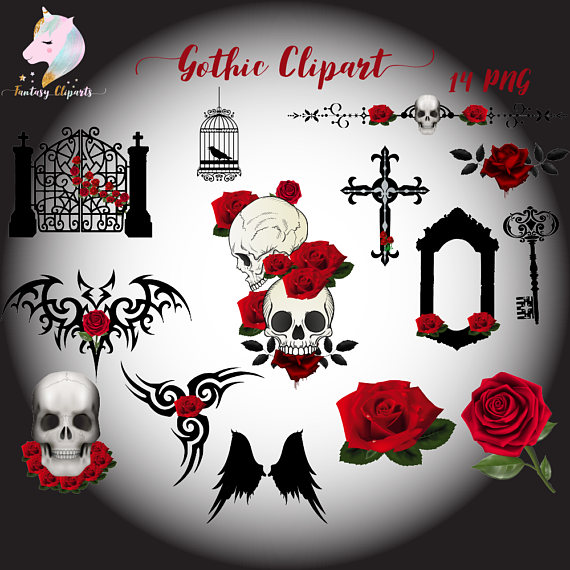 Gothic Clipart example image 1