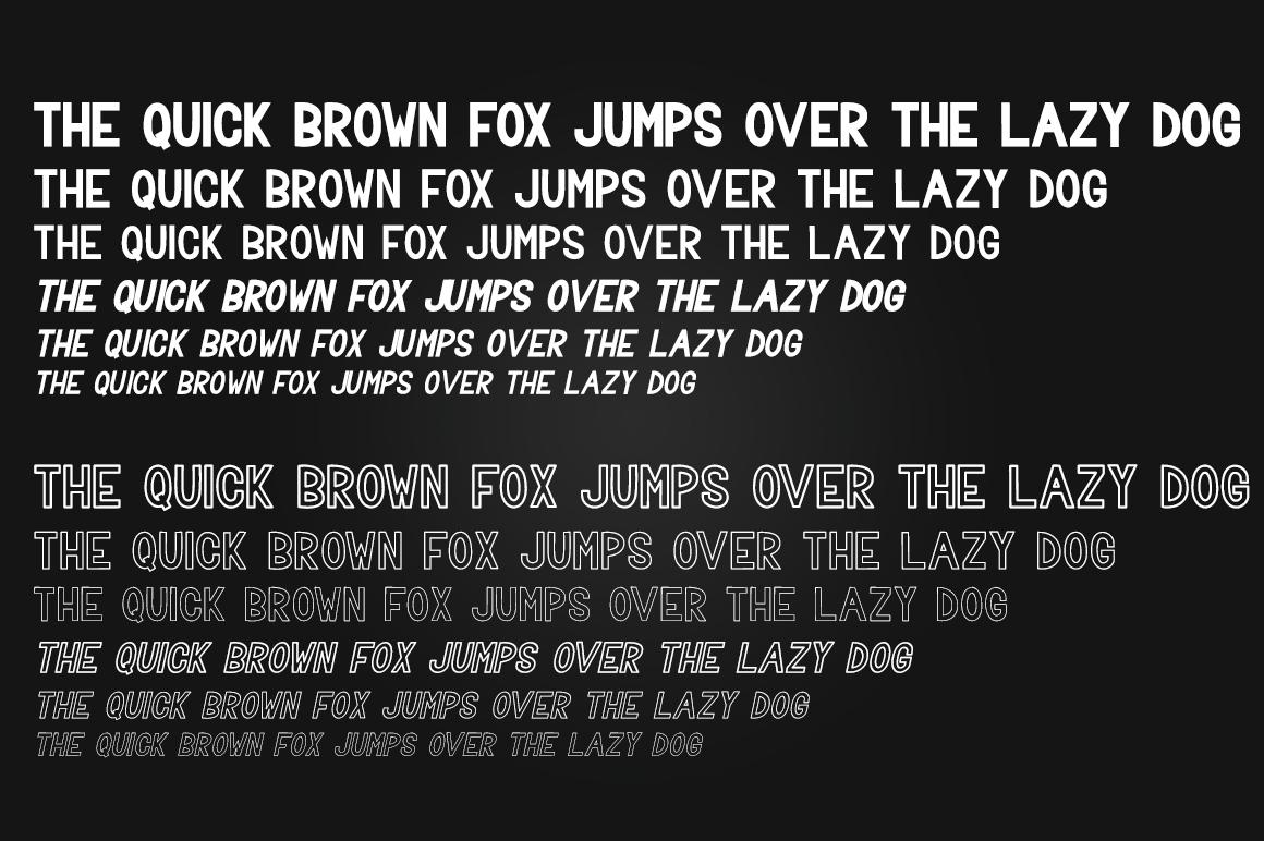 Trevor - Elegant Sans Serif Family Font example image 10