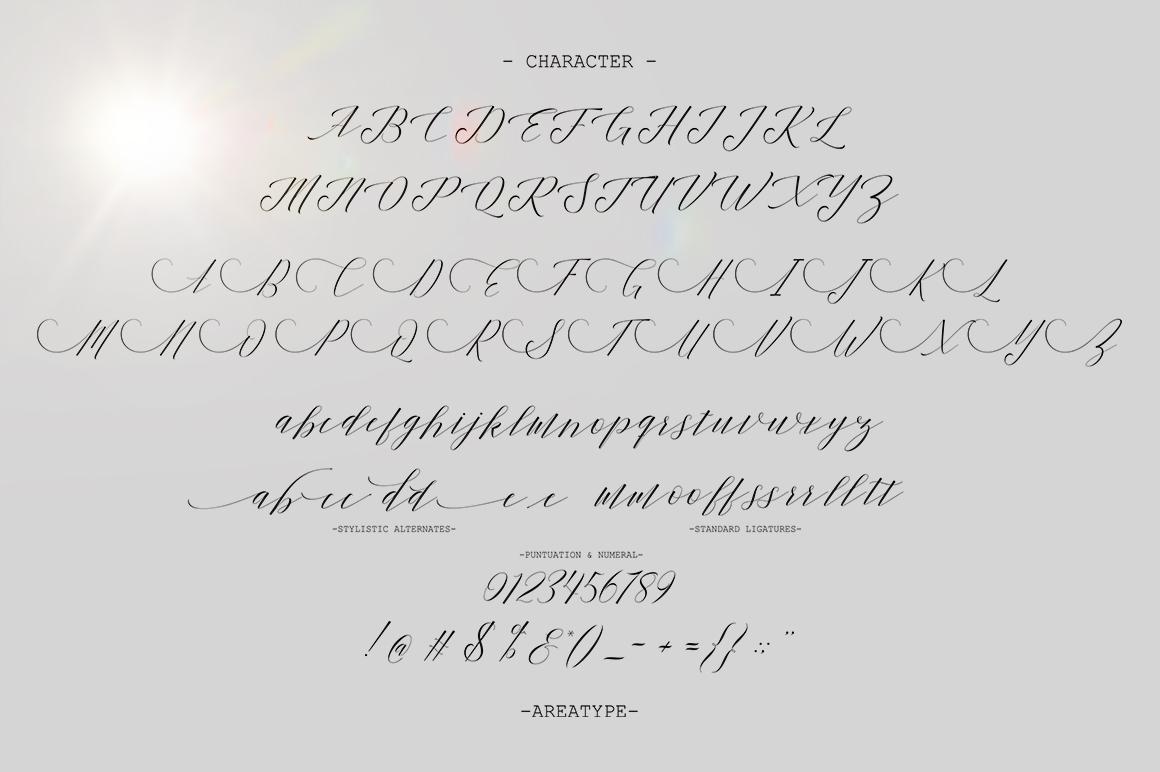 Shanti Script example image 5