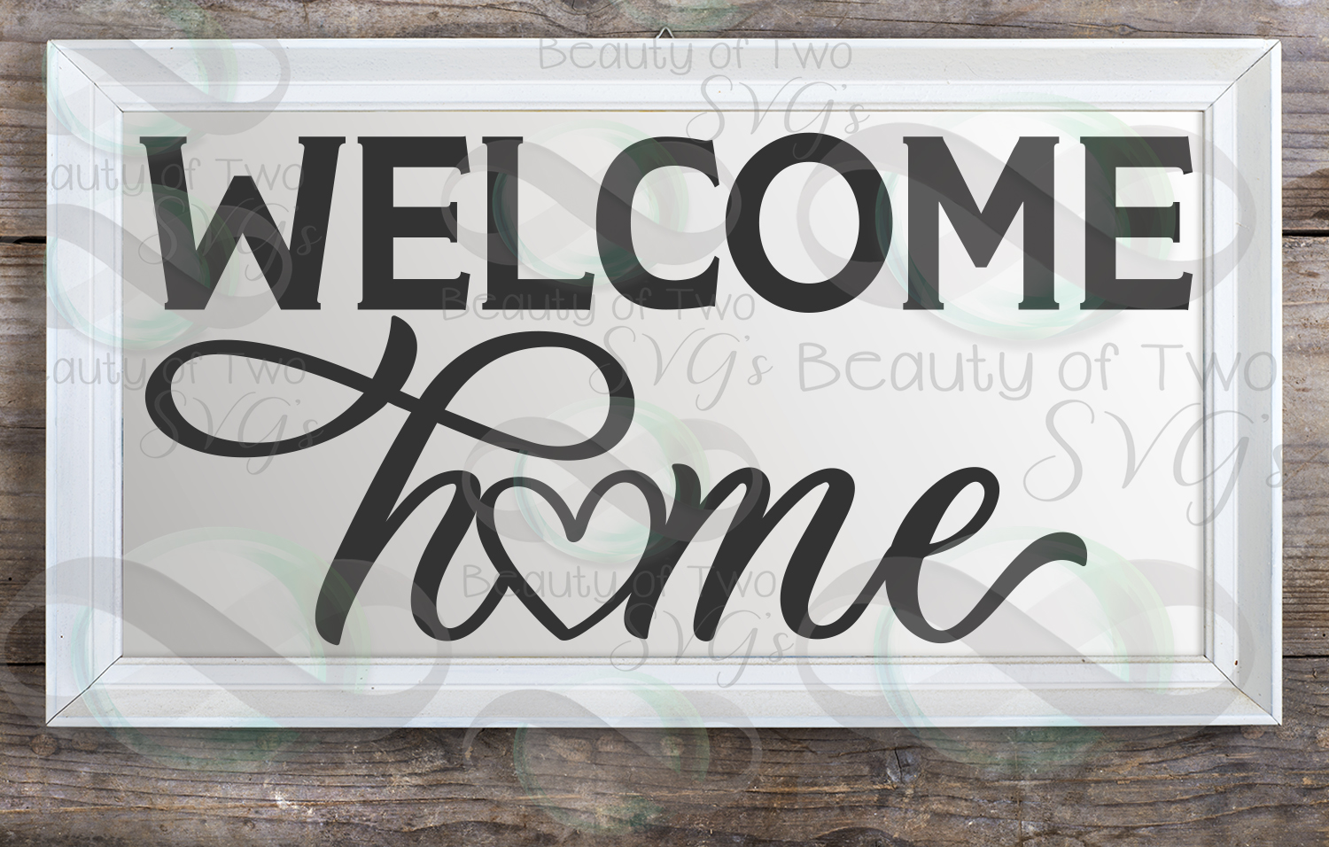 Welcome Home sign svg, Home Farmhouse svg and png, Home svg example image 2