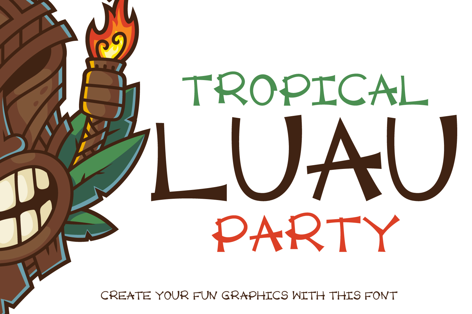Luau Party example image 1