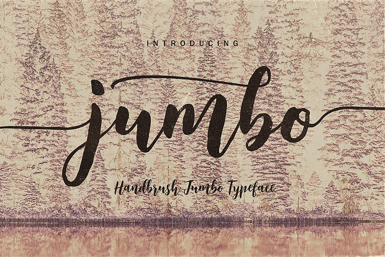 Jumbo Font Trio example image 6