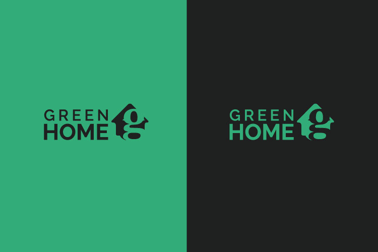 Green Home Letter G Logo example image 2