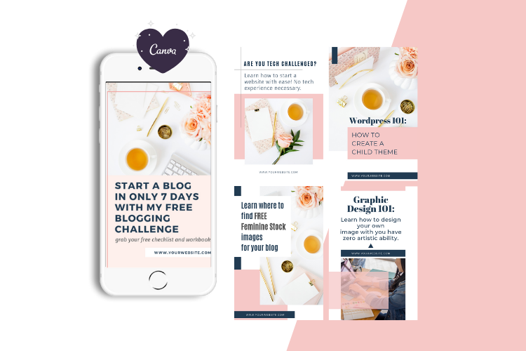 Boss Lady Pinterest Templates example image 5