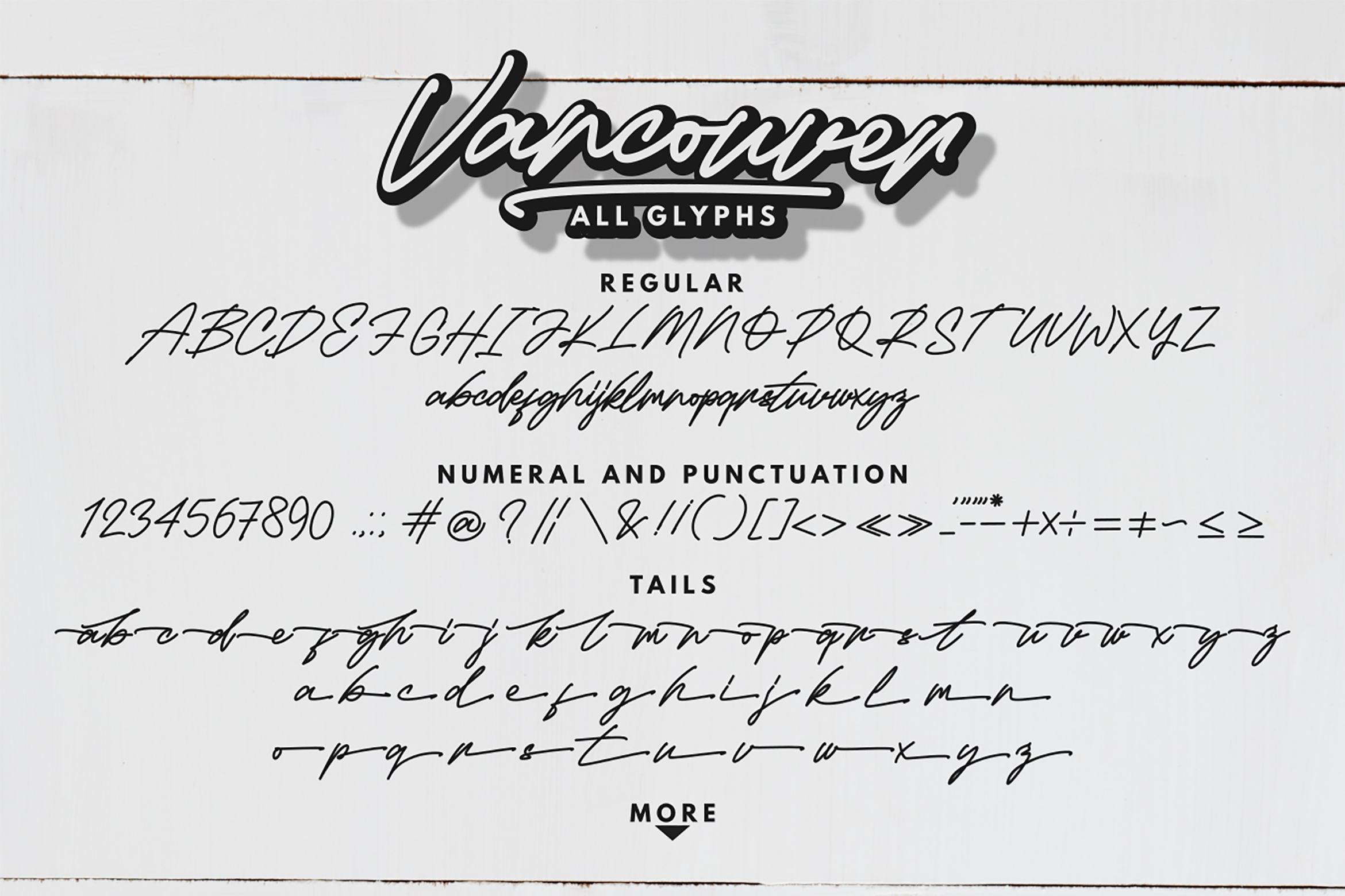 Vancouver - Handwritten Font example image 10