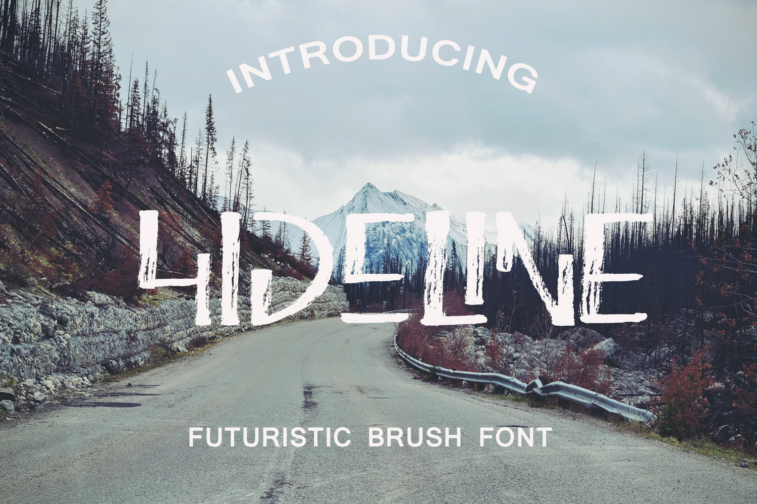 Hideline Font example image 1