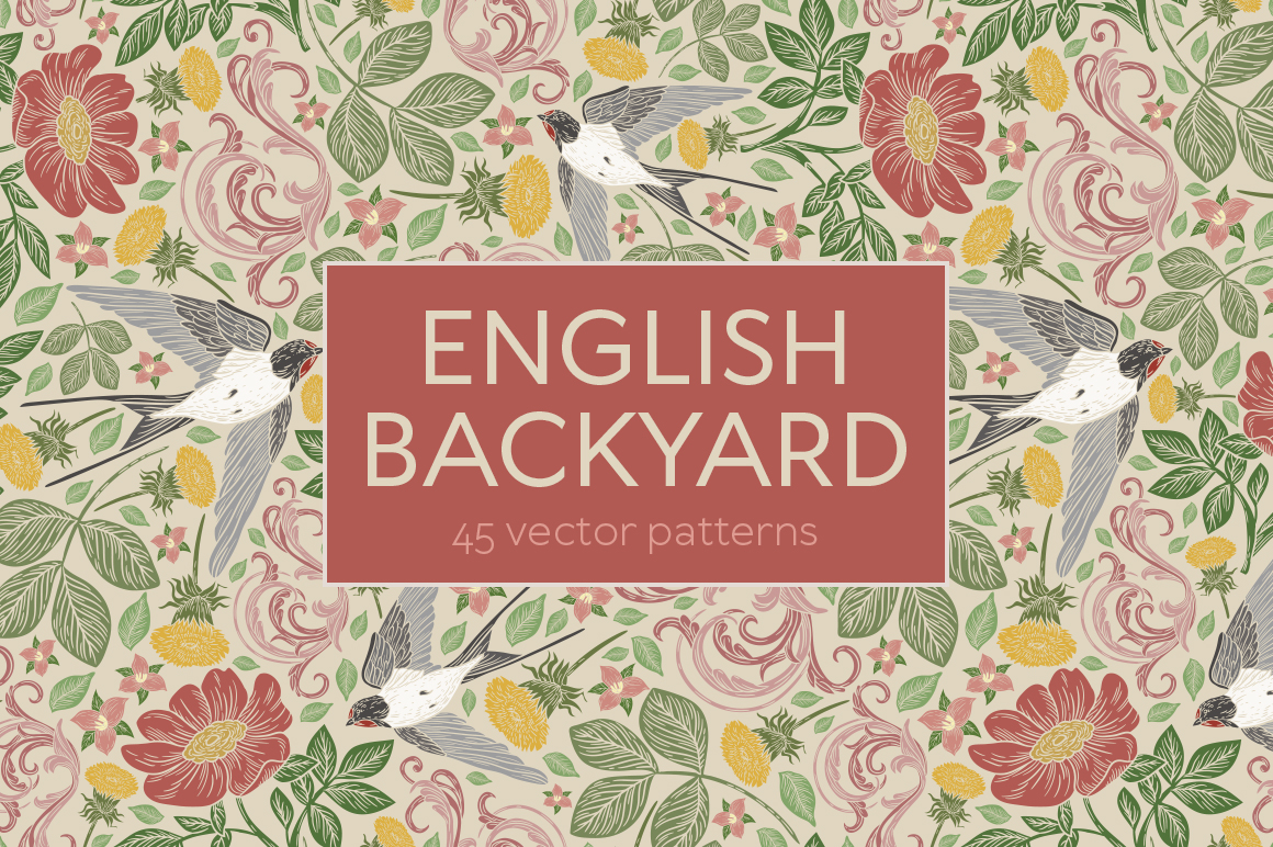 English Backyard patterns example image 15