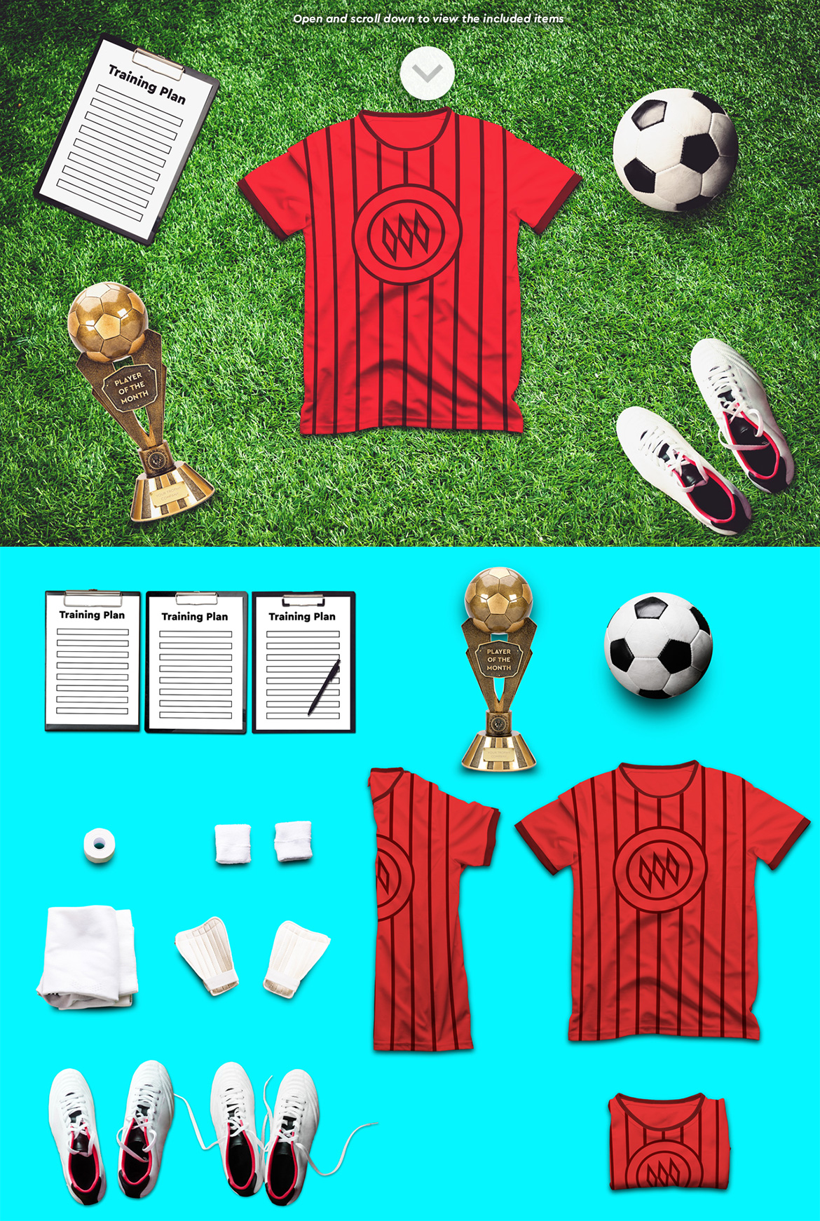 Soccer Scene /Mock-up Creator example image 7