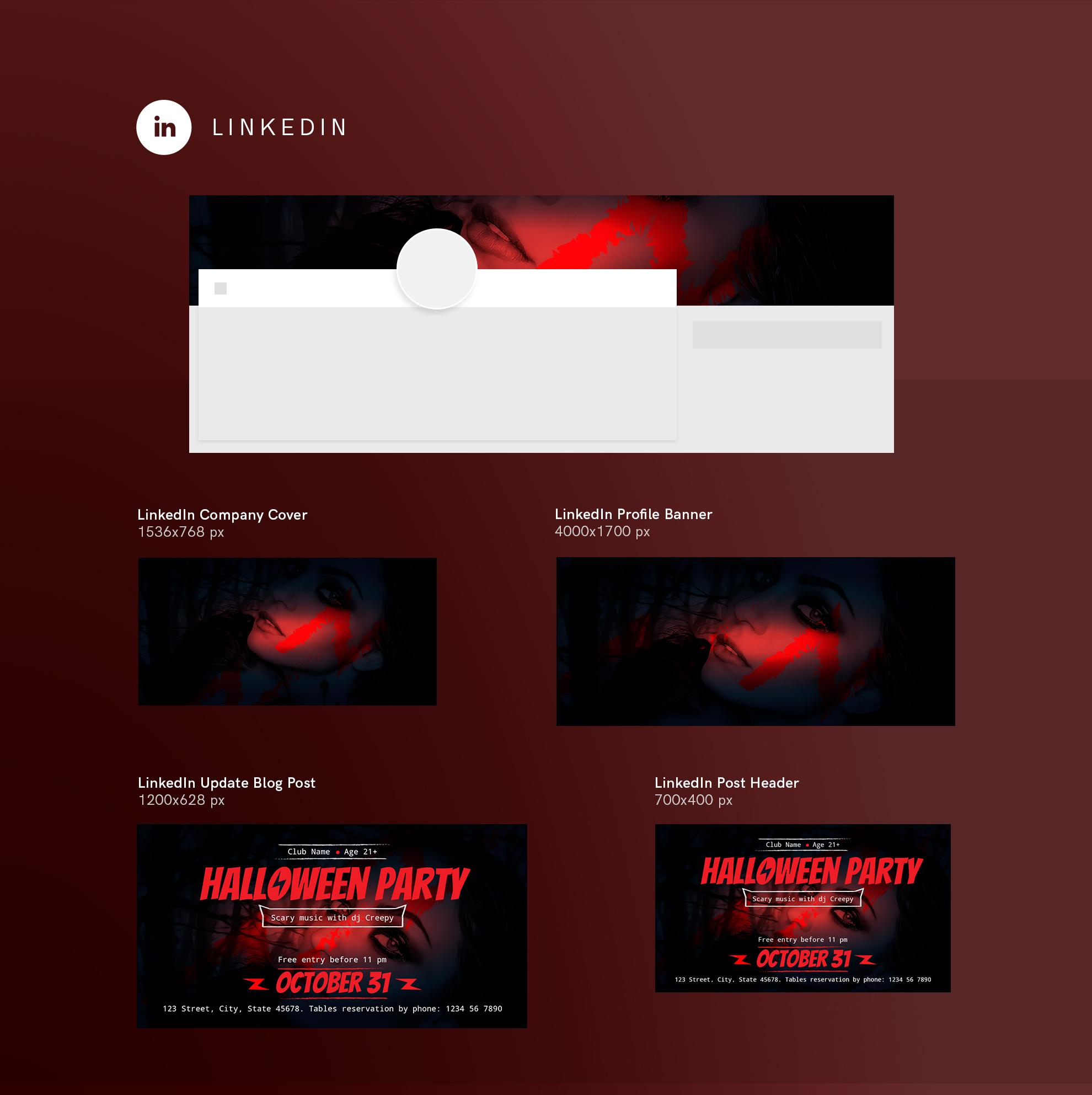 Halloween Party Design Templates Bundle example image 12