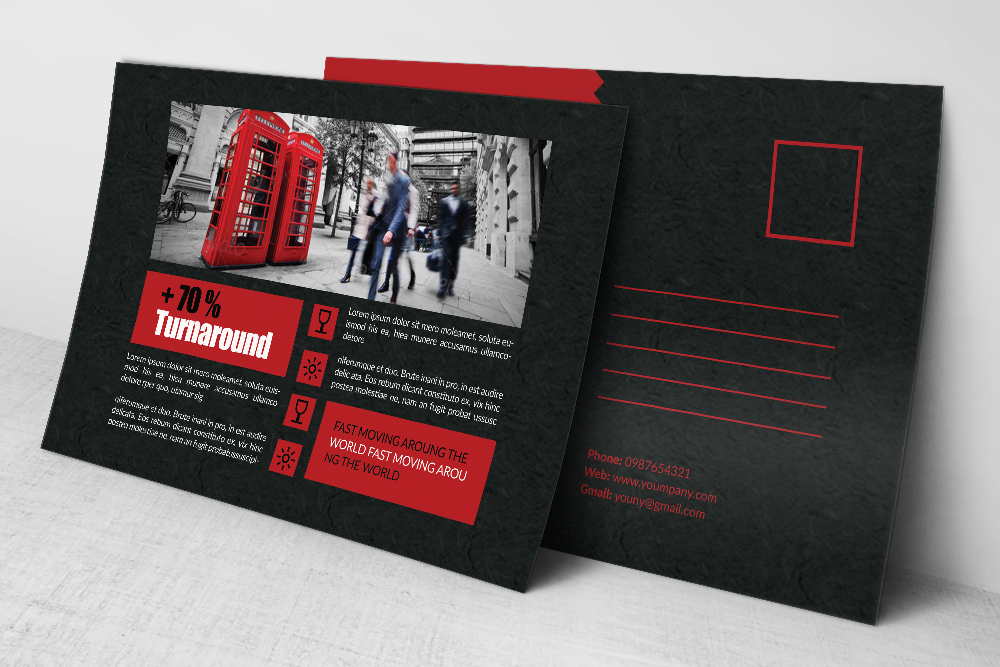 Multi Use Business Postcards example image 2