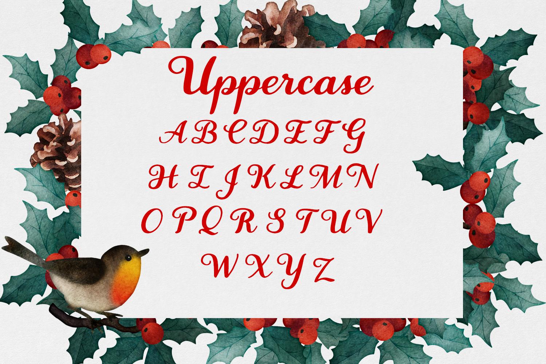 Wassailing - A handwritten script font example image 11