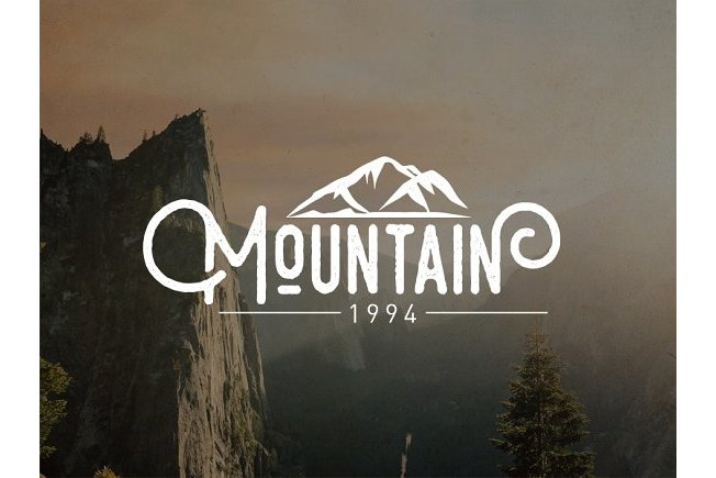 Mountain vector illustrations example image 2