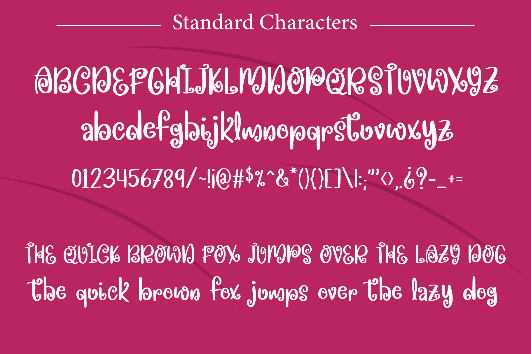 Spring Beets Font example image 3