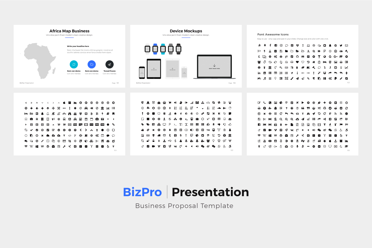 BizPro | Proposal Powerpoint Template example image 11