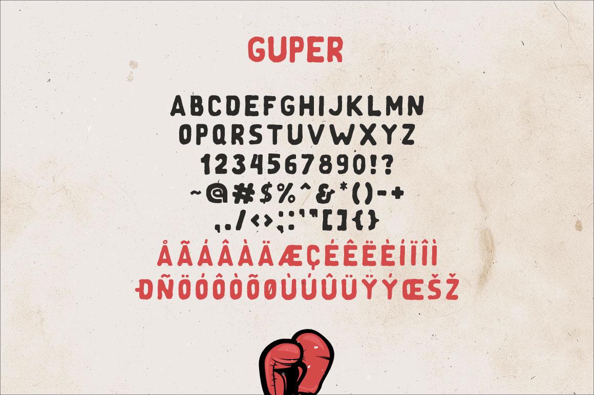Retrospective Bundle - Fonts & Logos example image 9