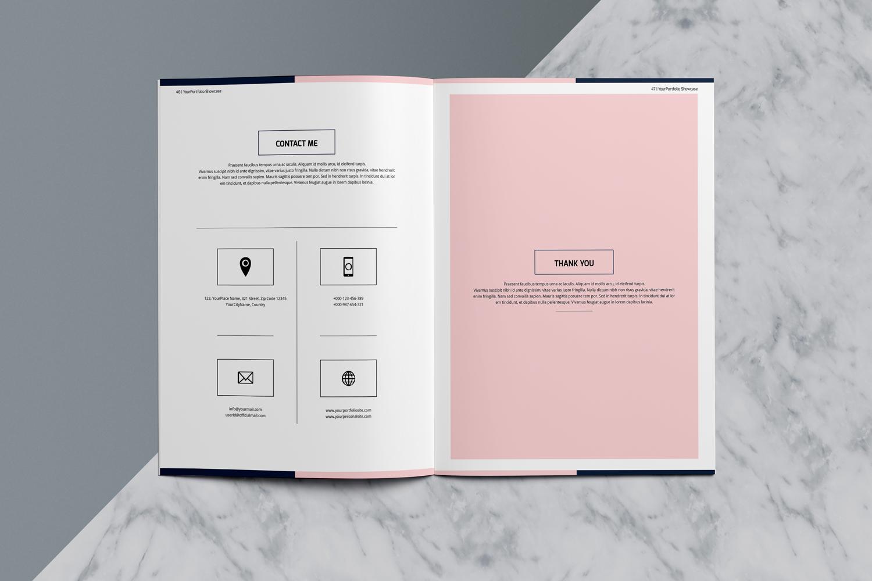 Designer Portfolio-48 Pages example image 3