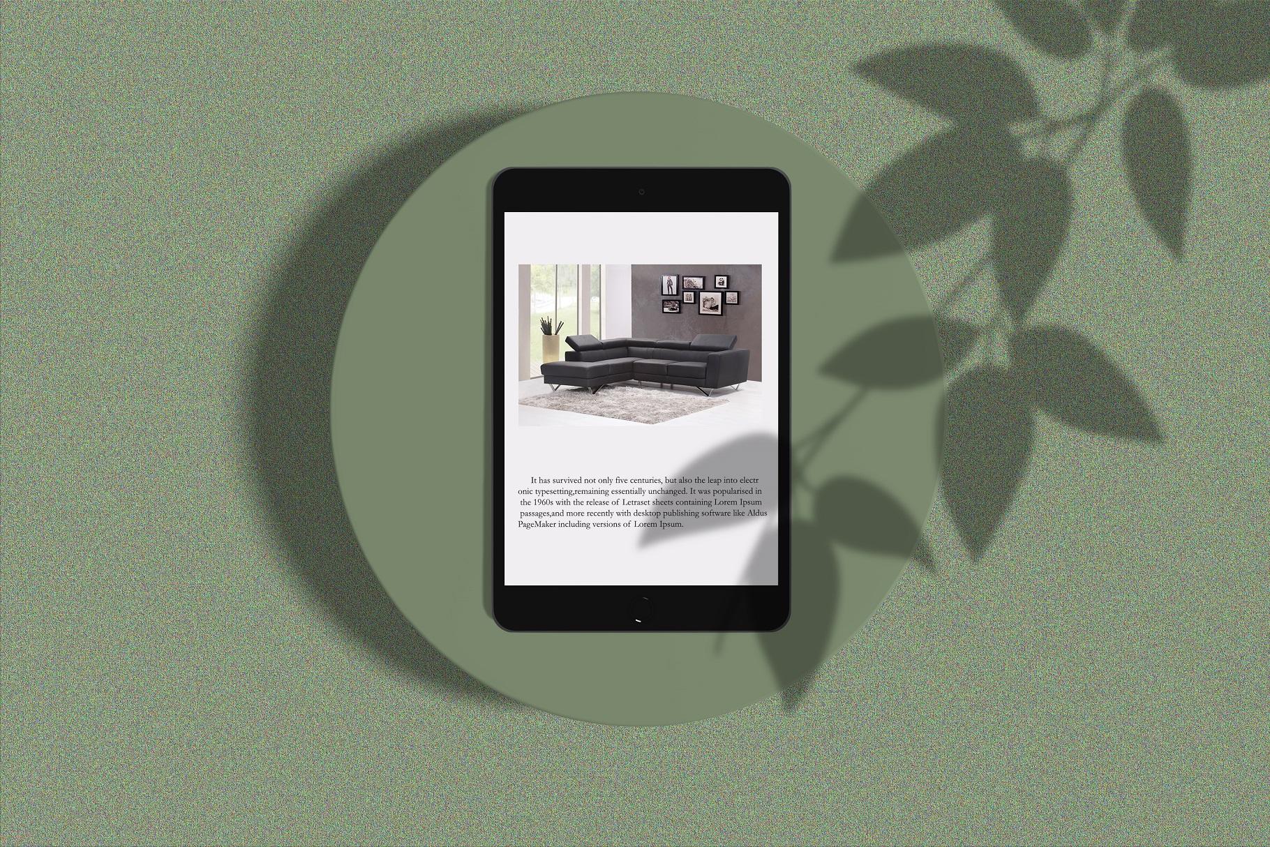 Minimal iPad Mockup example image 4