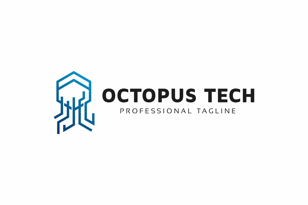 Octopus Tech Logo example image 3