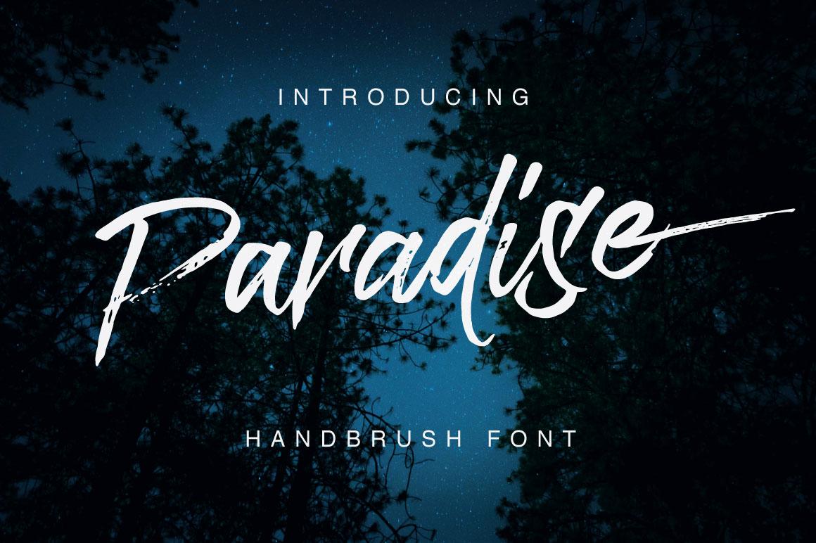 Paradise Typeface example image 1