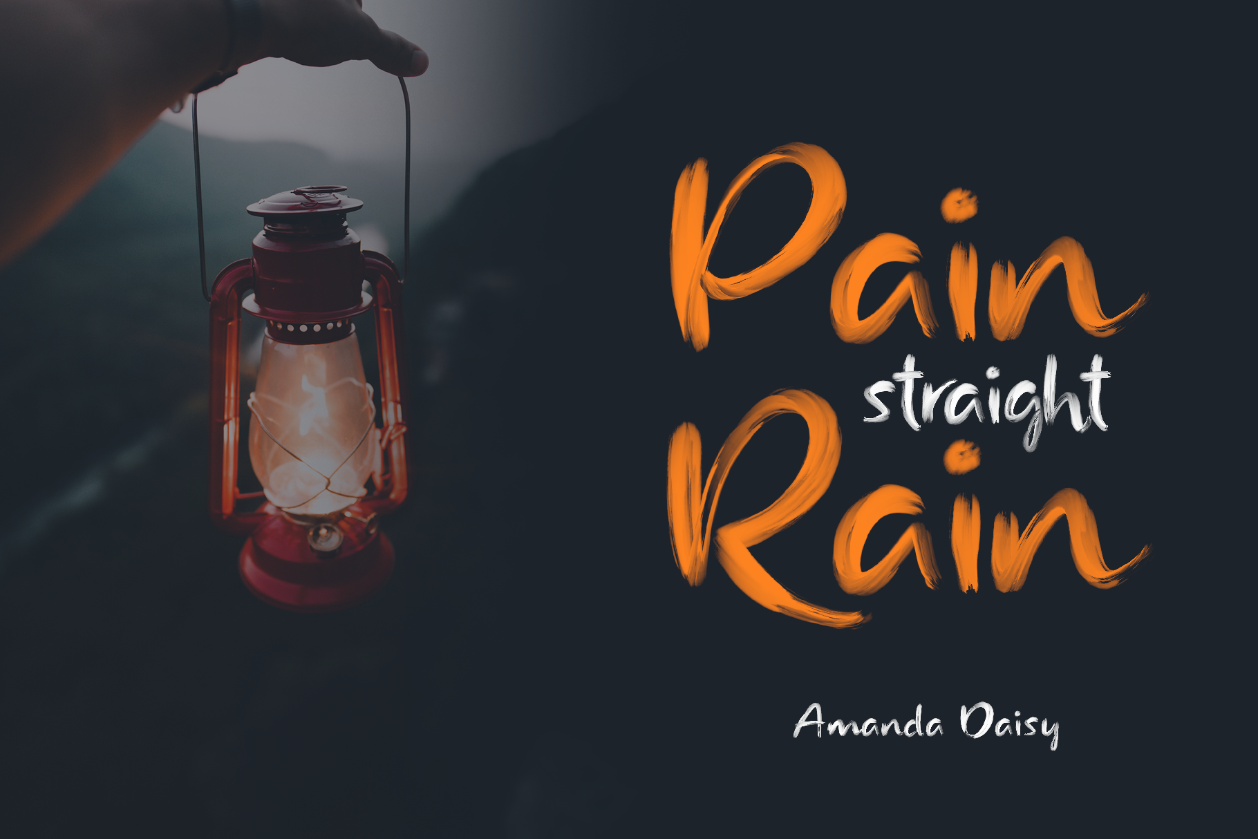 Rainly - Brush & SVG Font example image 4