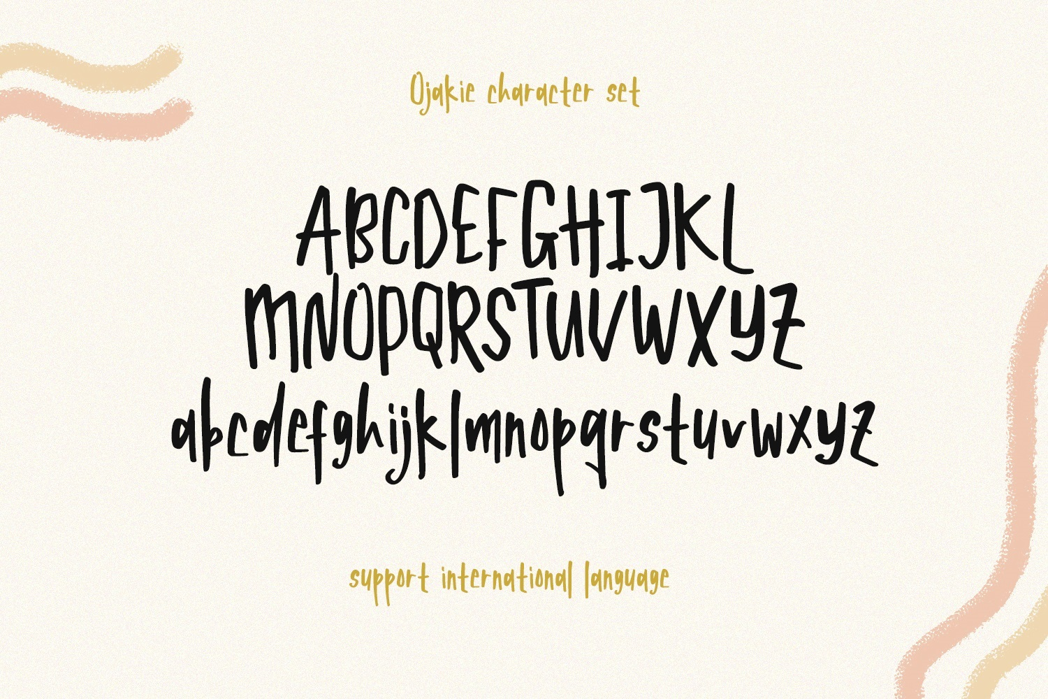 Ojakie - Cute Display Font example image 5