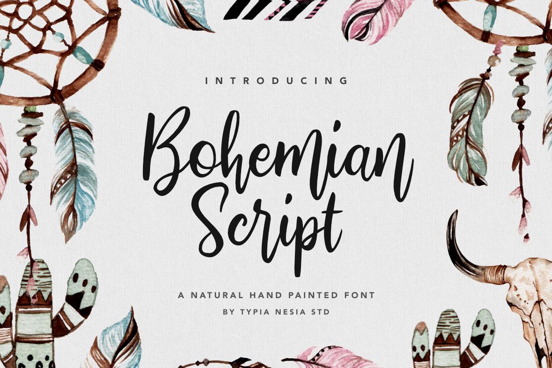 Bohemian Script example image 1