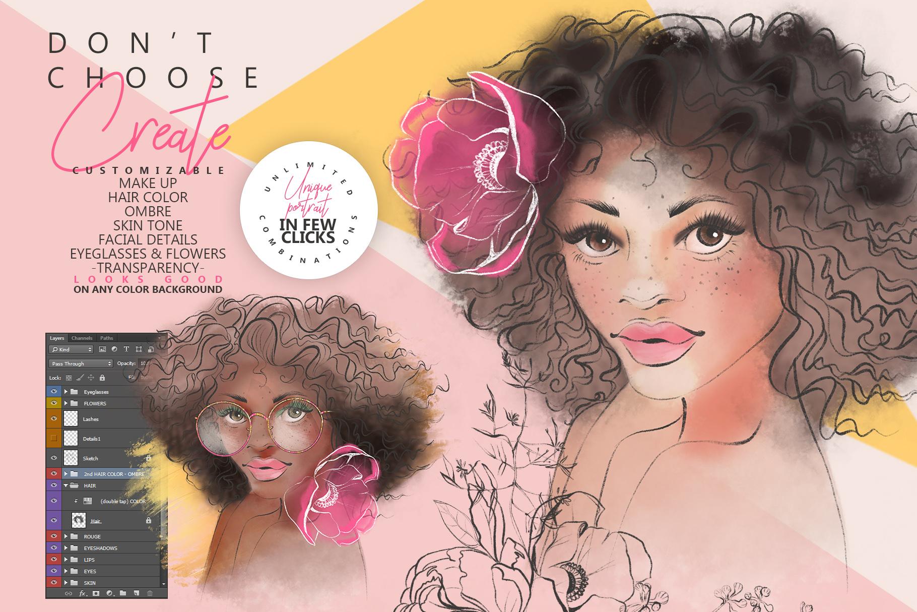Beauty Portrait Creator example image 3