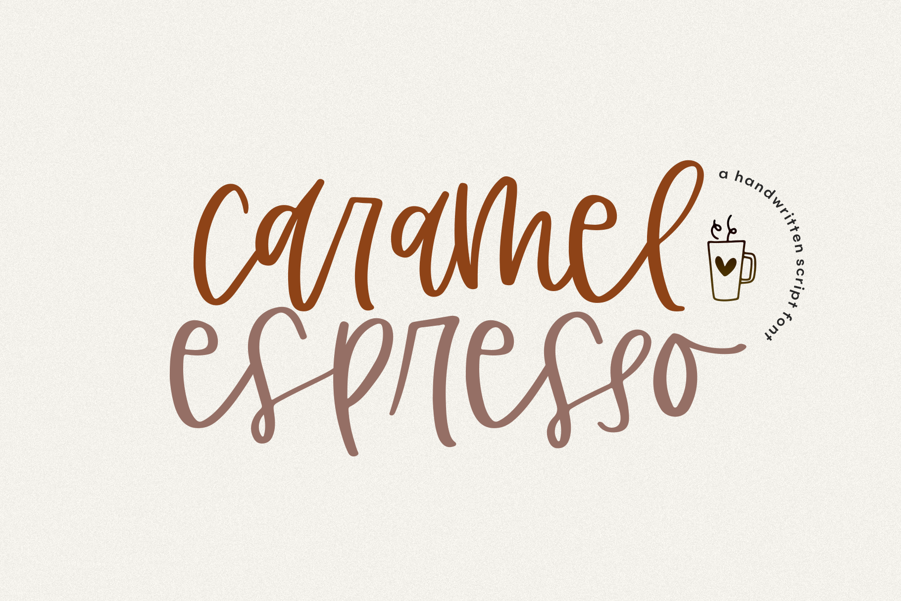 The Coffee Bundle - 6 Fun & Quirky Fonts example image 2