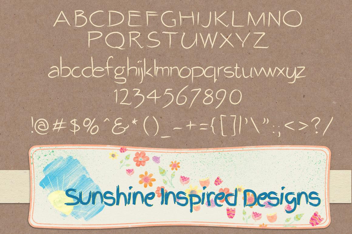 Font No.7, No.8 and No.9 example image 4