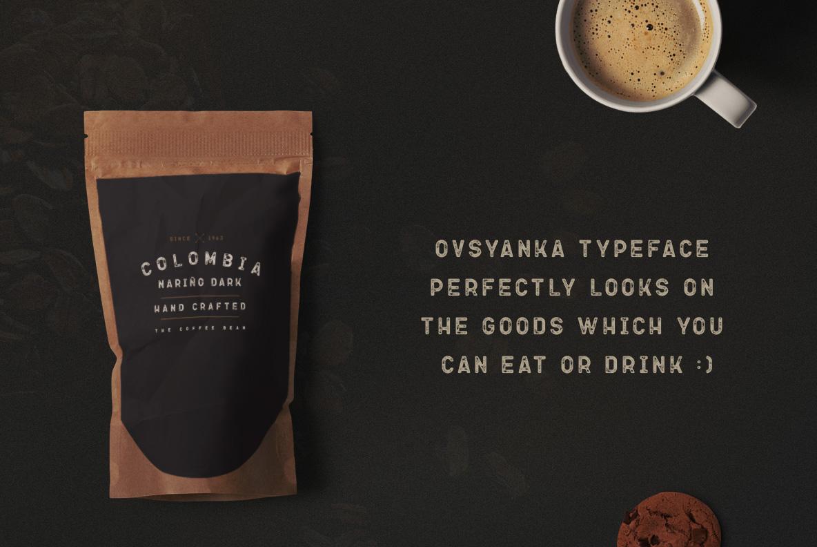 Ovsyanka Typeface example image 5