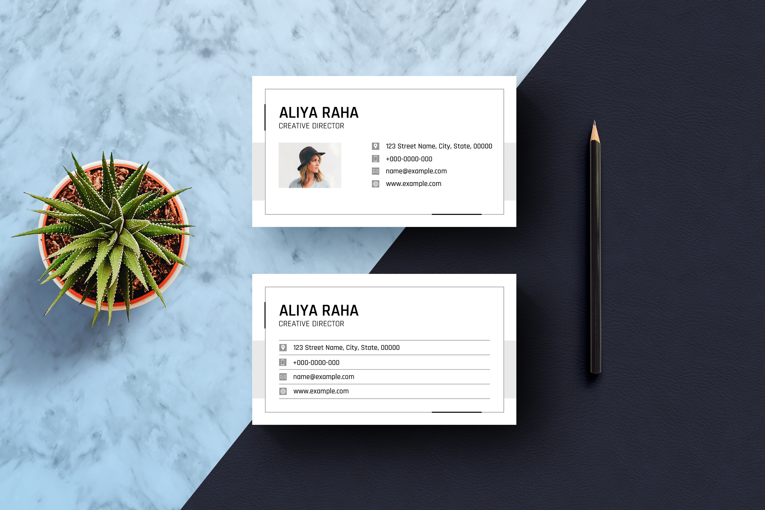 Minimal Business Card example image 2