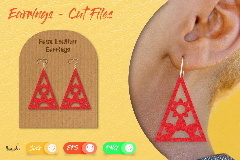5 Earrings - Mini Bundle - Cut files example image 11