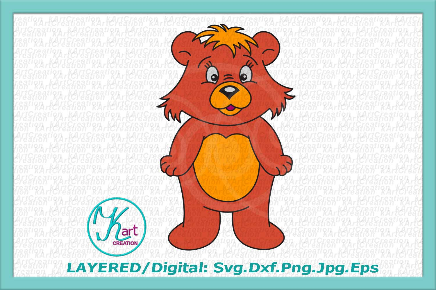 bear svg, cute bear svg, cute bear clipart, bear boy girl example image 4