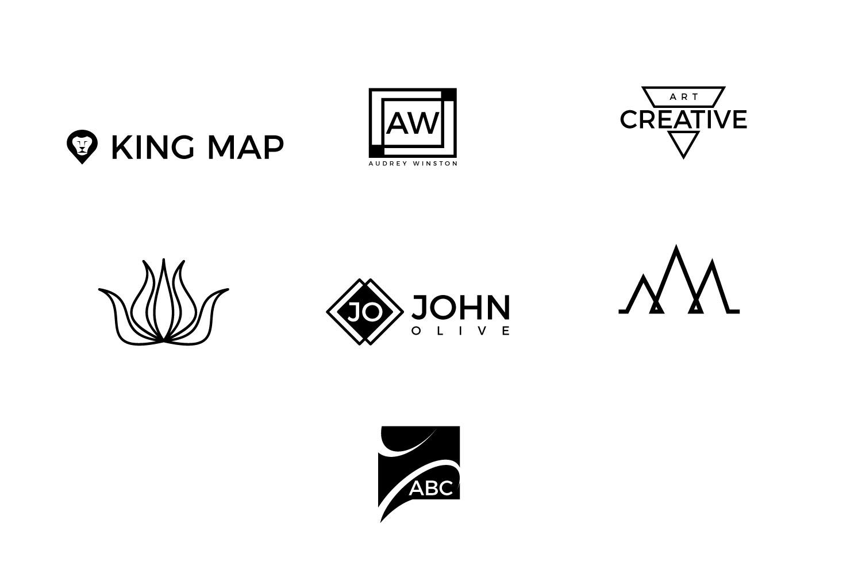 25 minimal logos Bundle example image 4