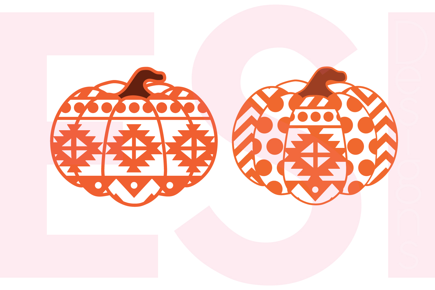 Halloween and Fall Designs Bundle -SVG DXF EPS & PNG example image 7