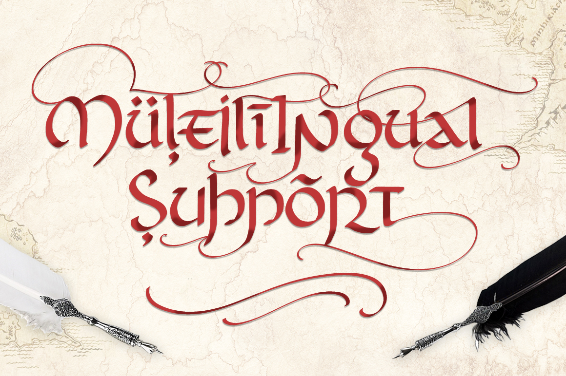 Rivendell. The full of magic font. example image 6