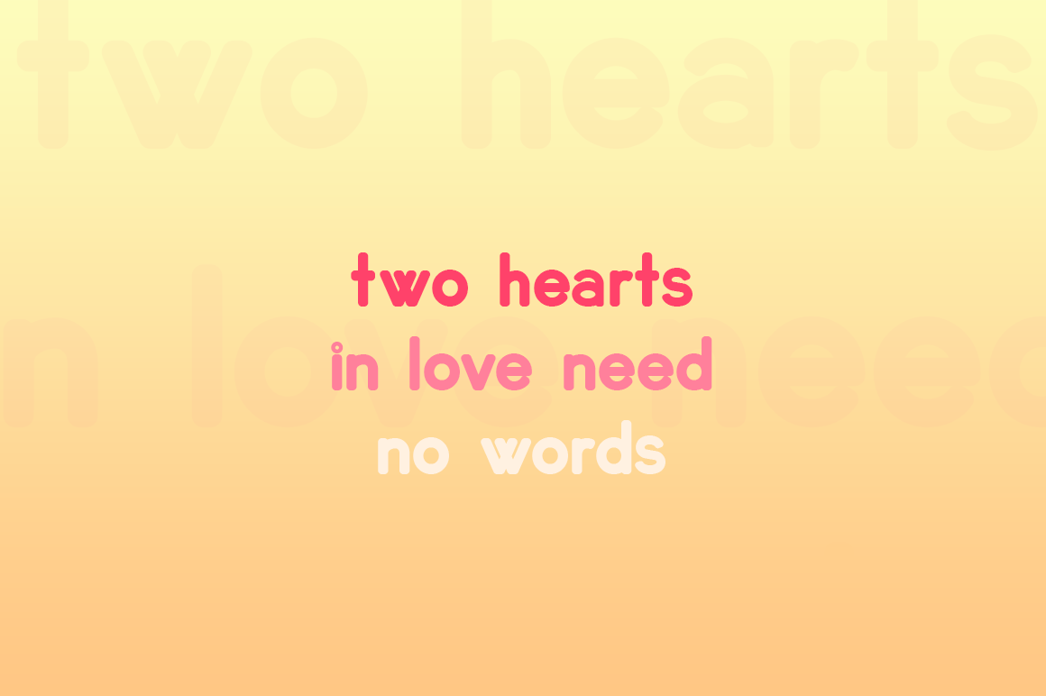 Lovebirds Font example image 2