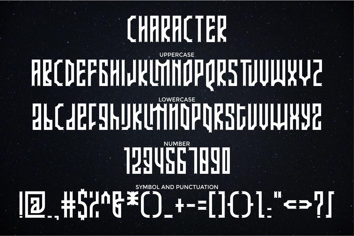 Arjunka Typeface example image 4
