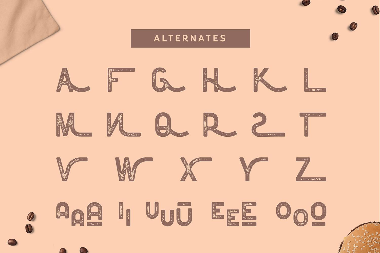 Floresto Textured Vintage Typeface example image 3