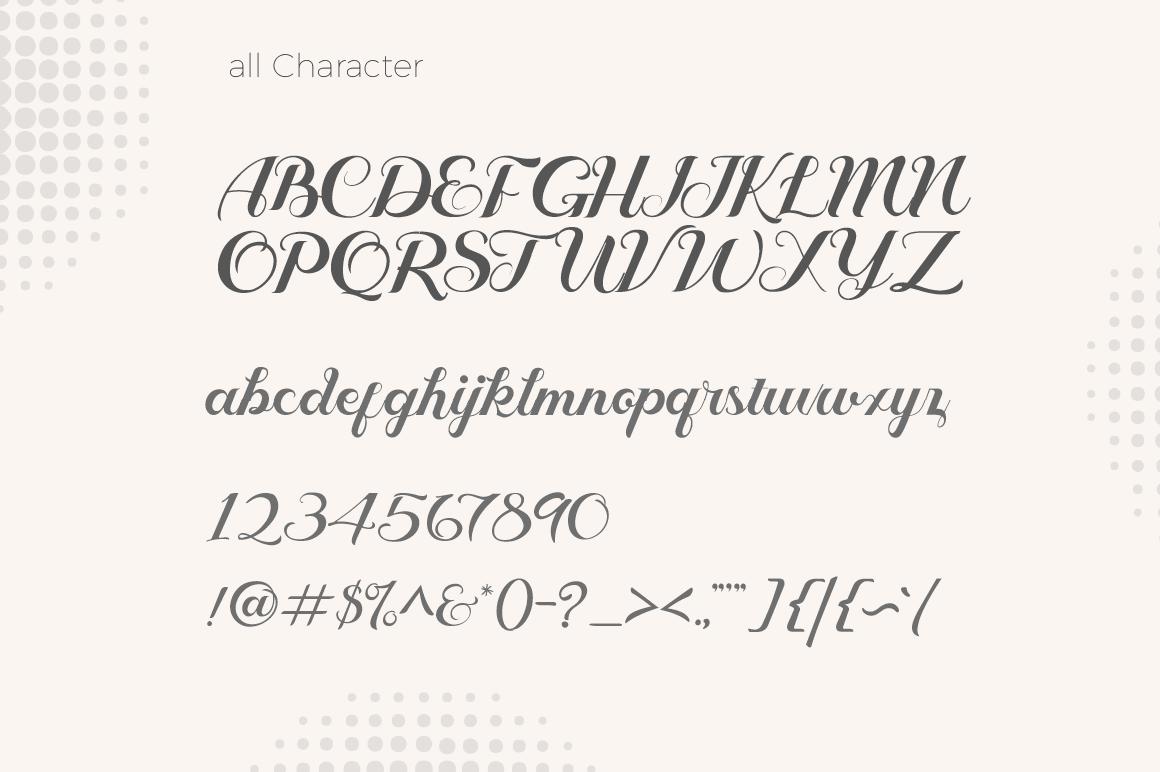 Geruthu Font example image 3