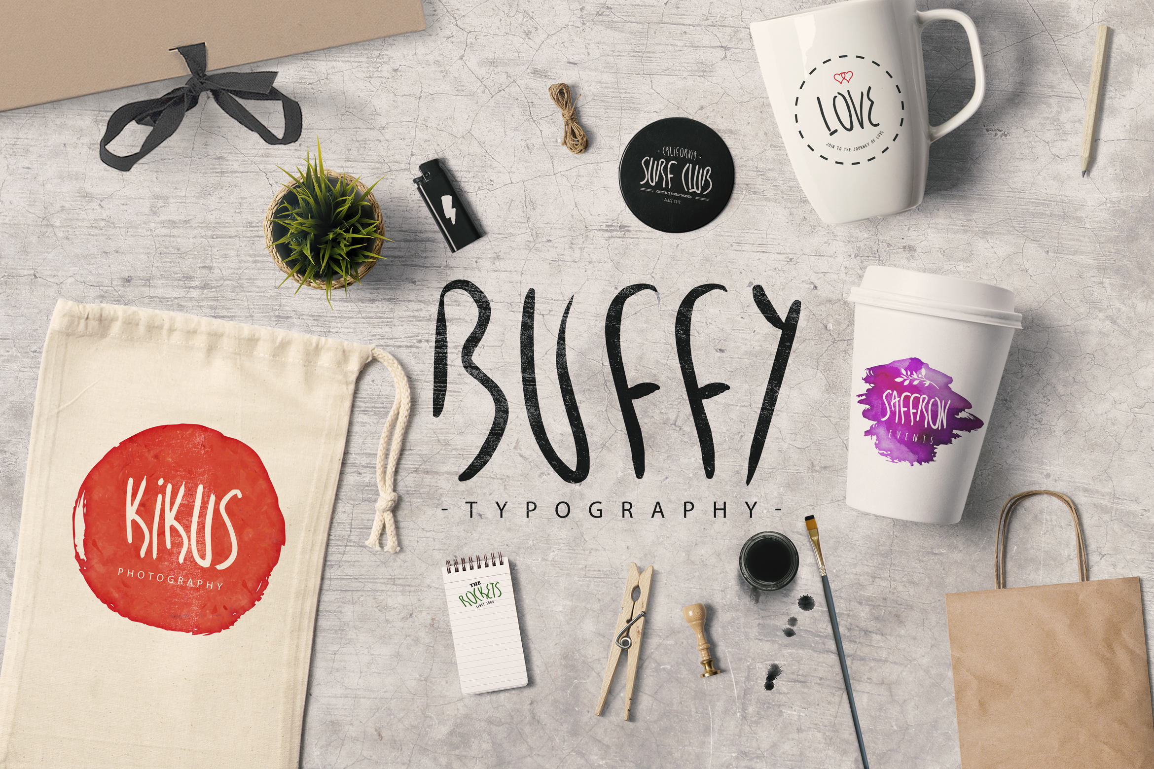25 Fonts Bundle example image 18