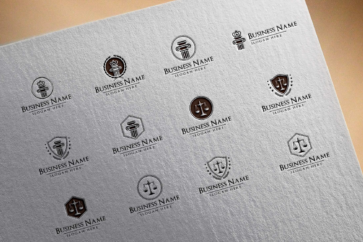 legal, law, lawyer, attorney, law office logo example image 2