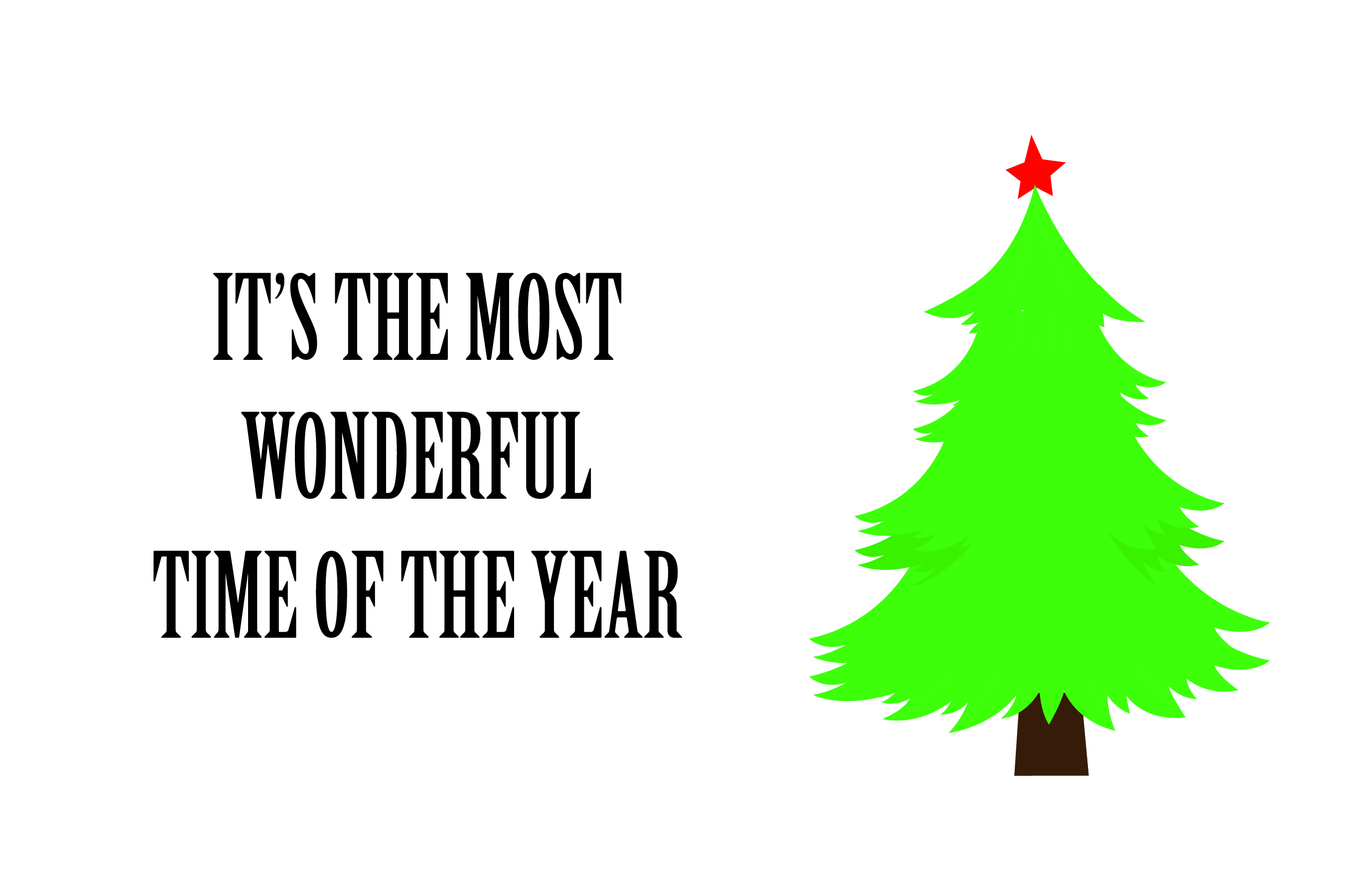 Wonderful time of the year - SVG Bundle 16 Designs example image 3