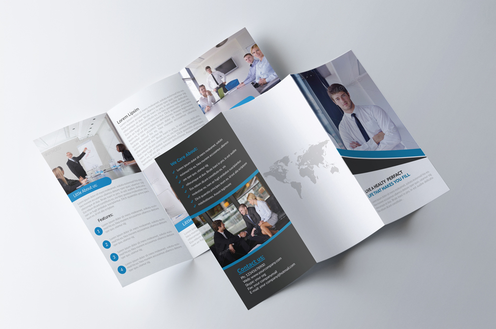 Business Innovation Trifold Brochure example image 3